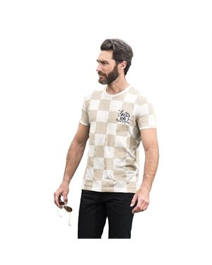 T-SHIRT FASTER SONS CHECKERED