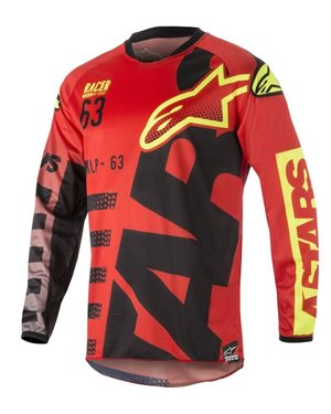 ΜΠΛΟΥΖΑ MX ALPINESTARS RACER BRAAP [2018]