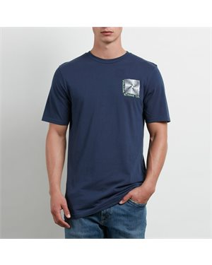 3e05c1471f47 VOLCOM T-SHIRT STONE RAD NAV