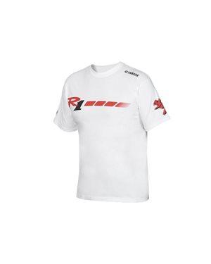 65c4458e5fbd Λευκό ανδρικό T-shirt για την 20ή επέτειο της YZF-