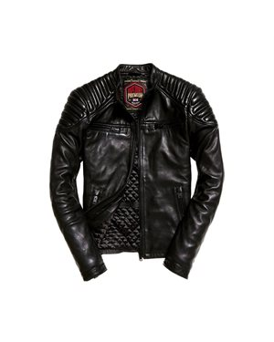 ΜΠΟΥΦΑΝ SUPERDRY D1 NEW HERO LEATHER RACED ΑΝΔΡΙΚΟ