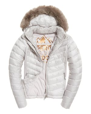 ΜΠΟΥΦΑΝ SUPERDRY D2 HOODED LUXE CHEVRON FUJI ΓΥΝ