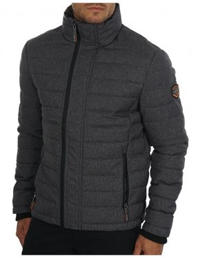 ΜΠΟΥΦΑΝ SUPERDRY  D1 TWEED DOUBLE ZIP FUJI ΑΝΔΡΙΚΟ