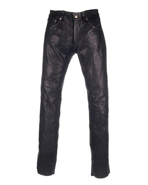 JEAN 505 LEATHER PANTS