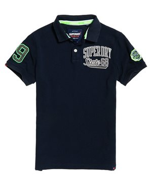 ΜΠΛΟΥΖΑ POLO SUPERDRY D1 CLASSIC SUPERSTATE PIQUE ΑΝΔΡΙΚΗ