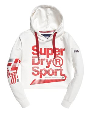 ΦΟΥΤΕΡ SUPERDRY D2 LA SPORTING SWOOSH CROP ΓΥΝΑΙΚΕΙΟ