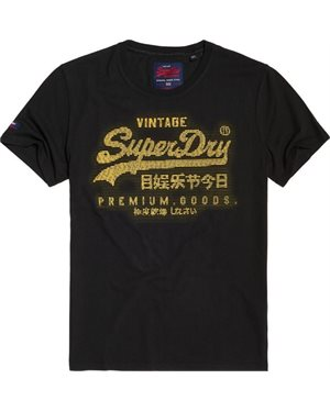 T-SHIRT SUPERDRY PREMIUM GOODS MID WEIGHT TEE (M10