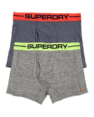EΣΩΡΟΥΧΑ SUPERDRY D2 SPORT BOXER DOUBLE PACK