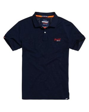POLO ΜΠΛΟΥΖΑ SUPERDRY D2 MERCERISED LITE CITY ΑΝΔΡΙΚΟ