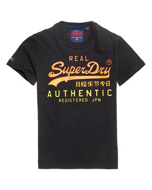 T-SHIRT SUPERDRY VINTAGE LOGO AUTHENTIC FADE M1056