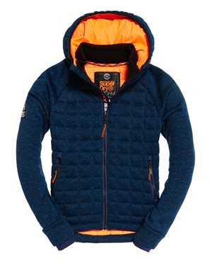 ΖΑΚΕΤΑ SUPERDRY D2 STORM QUILTED ZIPHOOD M20011AR-