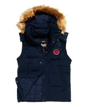 f431e65e03f9 ΜΠΟΥΦΑΝ SUPERDRY D2 ROOKIE DOWN GILET ΑΝΔΡΙΚΟ
