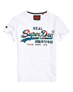 T-SHIRT SUPERDRY VINTAGE LOGO LAYERED CAMO M10996N