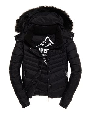 ΜΠΟΥΦΑΝ SUPERDRY FUJI SLIM DOUBLE ZIPHOOD W5000022